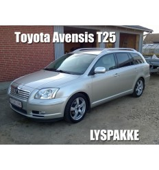 Toyota Avensis T25 Lyspakke 1 (Philips Vision)