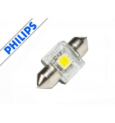 Philips X-treme Vision LED 4000K C5W Festoon 14x30mm