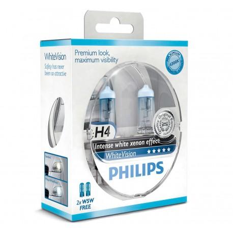 Philips WhiteVision H4 (2+2-pak)