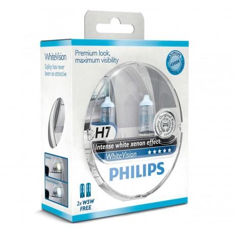 Philips WhiteVision H7 (2+2-pak)
