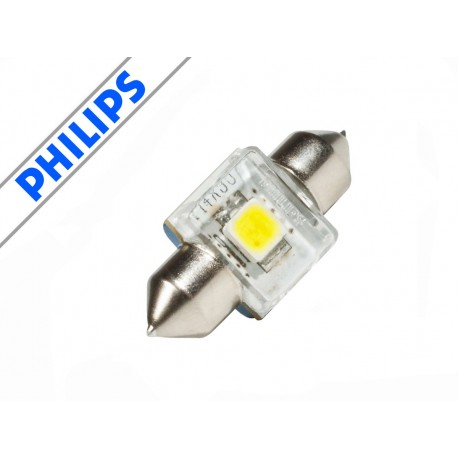 Philips X-treme Vision LED 6000K C5W Festoon 14x30mm