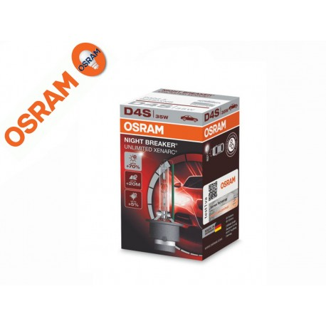 Osram D4S Night Breaker Unlimited Xenarc Xenon