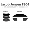 Jacob Jensen FS04 klæbepuder