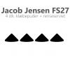 Jacob Jensen FS27 klæbepuder