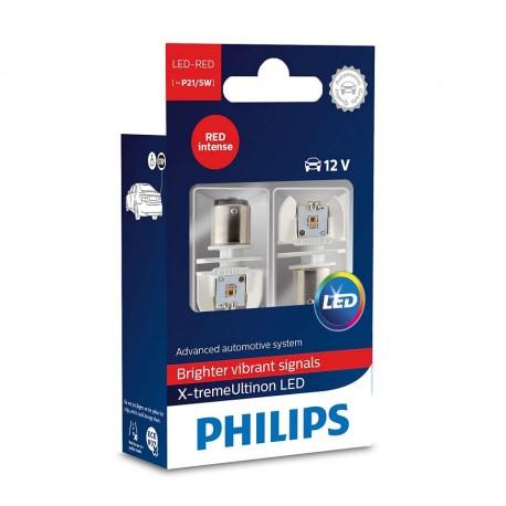 Philips P21/5W LED X-tremeUltinon Red Intense (2-pak)
