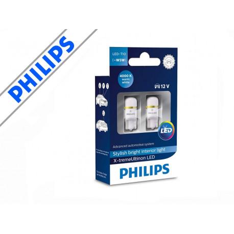 Philips X-tremeUltinon LED 4000K W5W / T10 (2-pak)