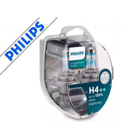 Philips X-treme Vision Pro H4 +150% (2-pak)